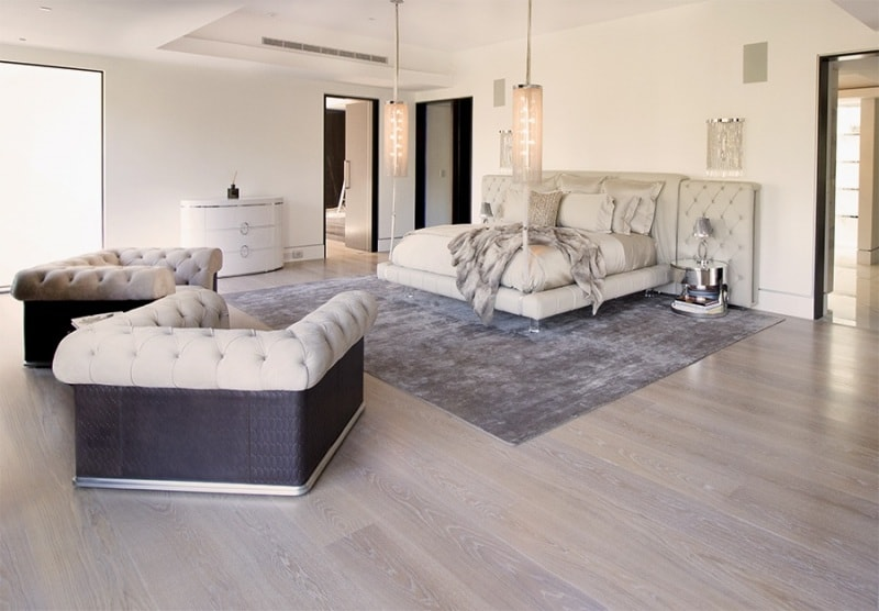The Hanover House Beverley Hills Interior Bedroom