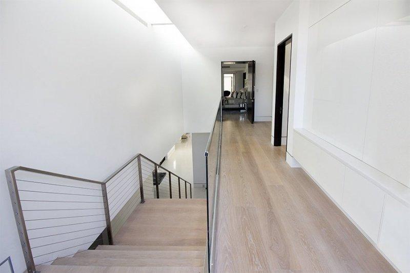 Hardwood Flooring Hall Way with European Oak