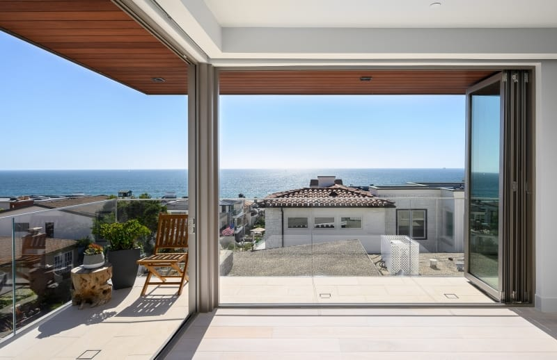Panoramic Ocean View from Luxury Home