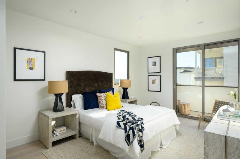 Secondary Bedroom with European Oak Flooring
