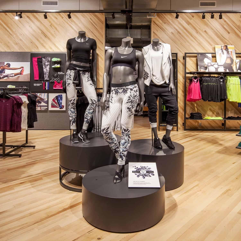 Nike Store Santa Monica Interior Flooring