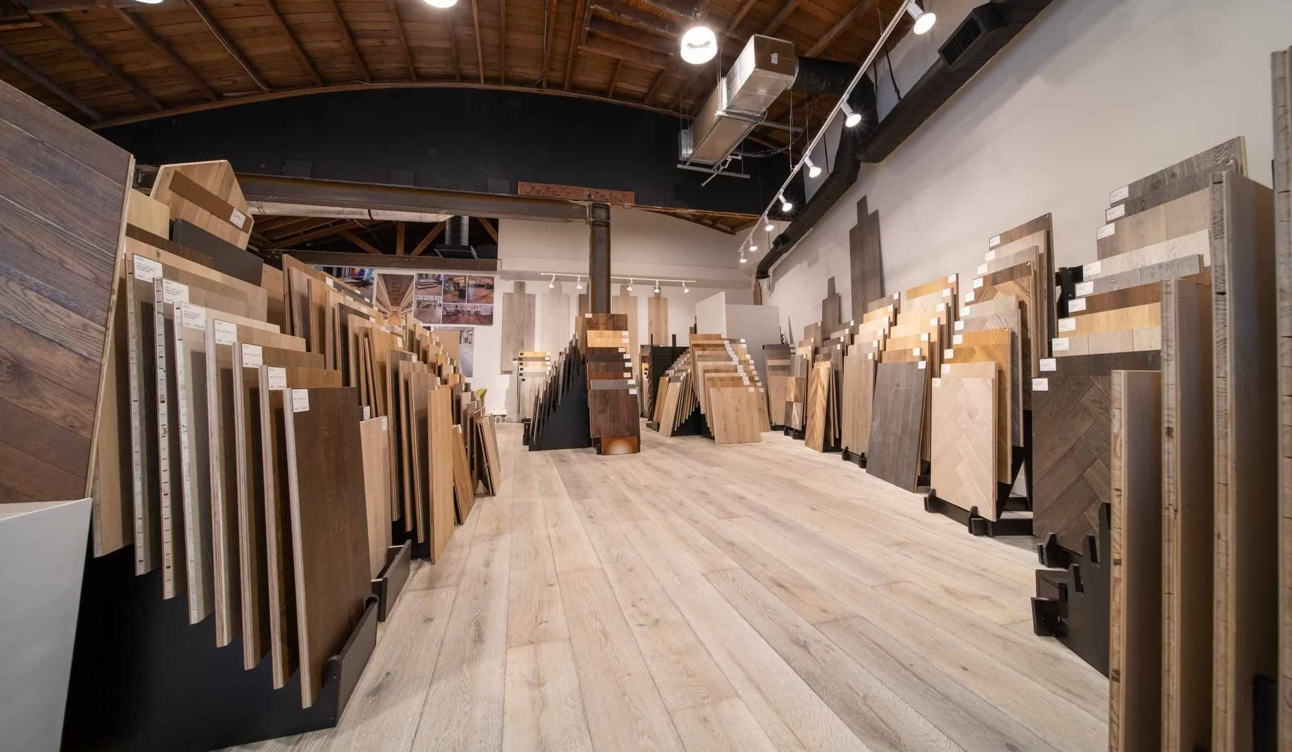 Hardwood Flooring Showroom